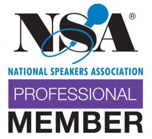Tonia is a proud member of the National Speakers Association.